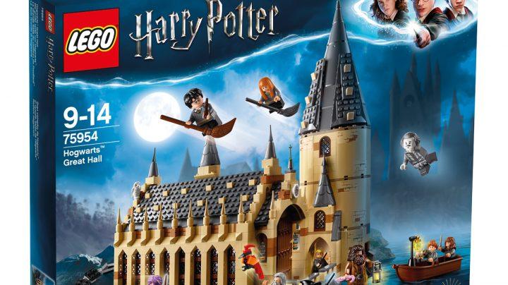 Lego Harry Potter, uno de los juguetes más vendidos en El Corte Inglés en la campaña de Navidad de 2018.