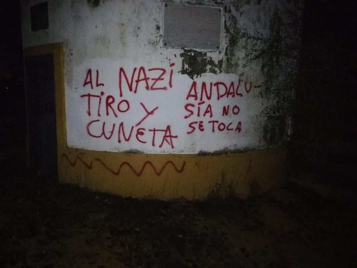Pintadas en casa de Morante de la Puebla.