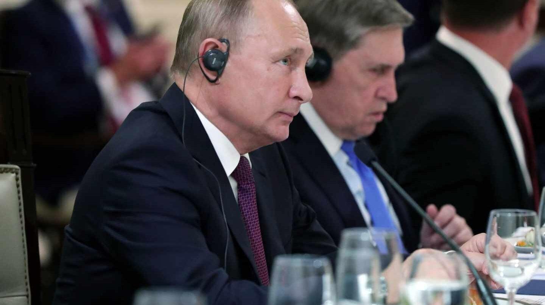 El presidente ruso Putin en la reunión del G20 en Buenos Aires
