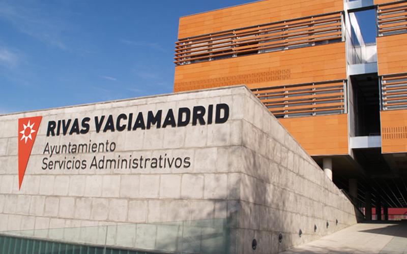 Edificio del Ayuntamiento de Rivas Vaciamadrid.