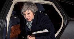 La primera ministra británica, Theresa May, a su llegada al 10 de Downing Street.