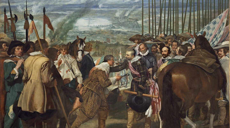 La rendición de Breda de Velázquez.