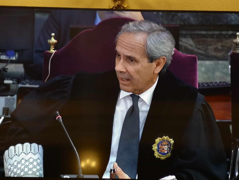 El fiscal Jaime Moreno.
