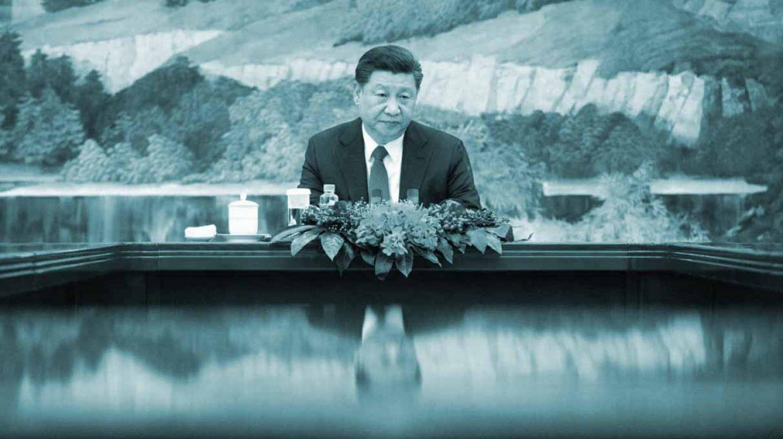 El presidente chino, Xi Jinping,en el Gran Palacio del Pueblo de Pekín.