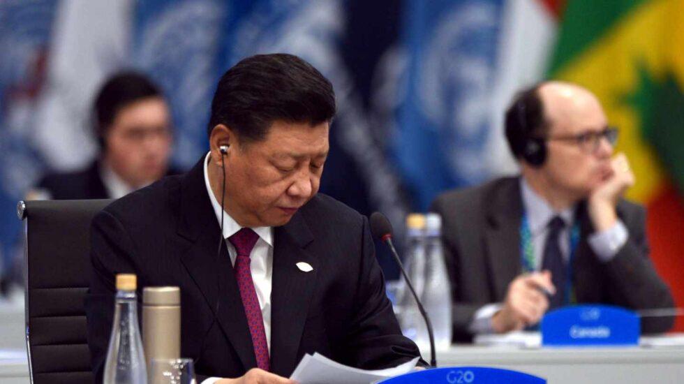 El presidente chino Xi Jinping en el G20