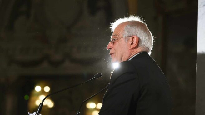 Josep Borrell, durante el Foro ABC.