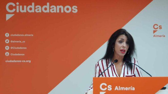 La diputada Marta Bosquet, líder de Ciudadanos en Almería.