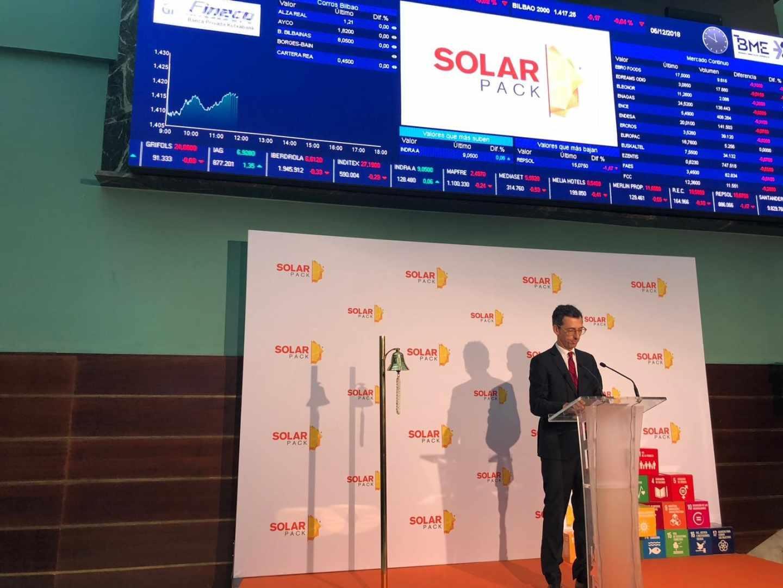 El apetito por las renovables impulsa a Solarpack en su debut en bolsa.