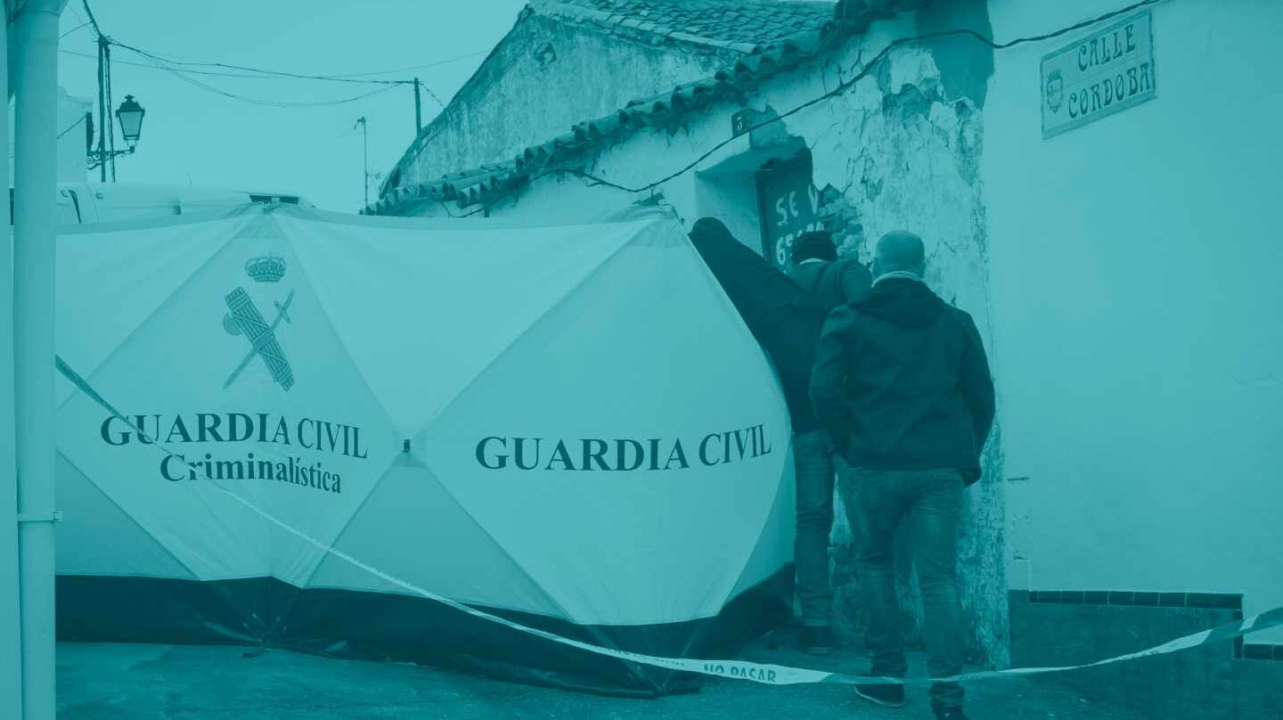 La Guardia Civil investiga en El Campillo.