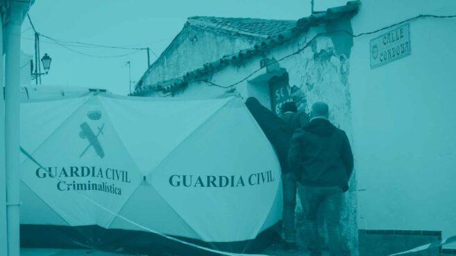 La Guardia Civil investiga en El Campillo.