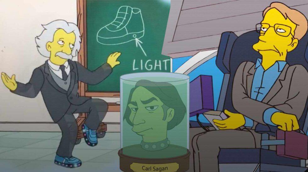 Científicos pop al estilo Simpson