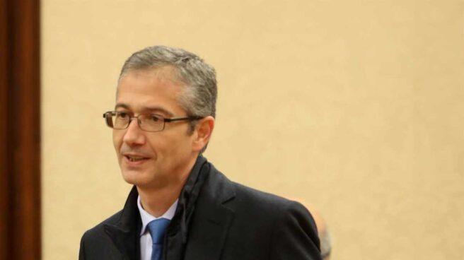 Pablo Hernandéz de Cos, gobernador del Banco de España.