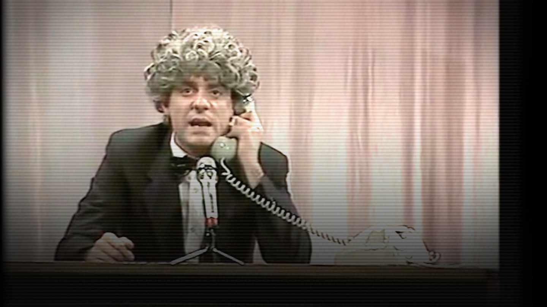 Martes y Trece, Millán Salcedo como Encarna Sánchez en el gag de la empanadilla de 1986