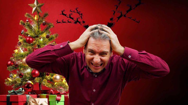 Estrés navideño.