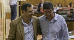 Juan Marín llama ahora a Vox para salvar el cambio en Andalucía, en riesgo por su cita con Podemos