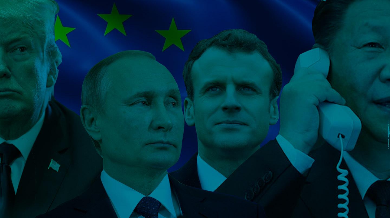 Donald Trump, Vladimir Putin, Emmanuel Macron y Xi Jinping, protagonistas de 2019.