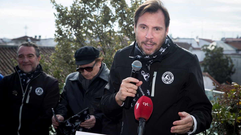 Óscar Puente, alcalde de Valladolid.