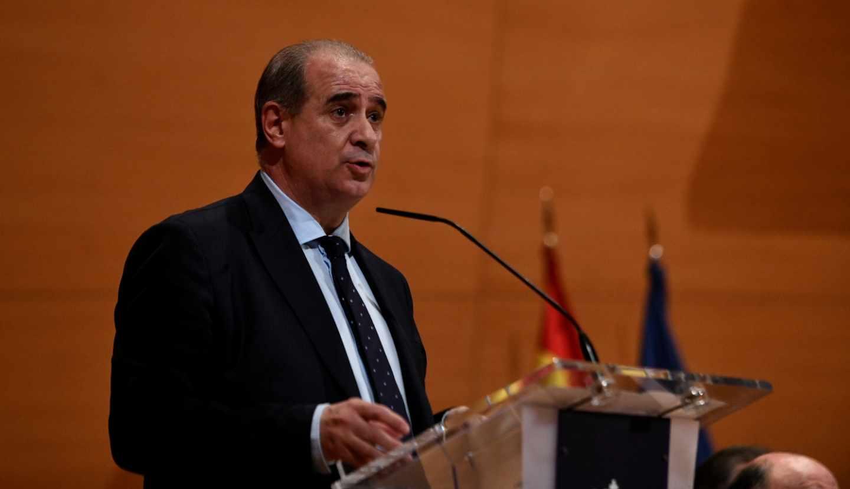 El director general de la Policía Nacional, Francisco Pardo Piqueras.