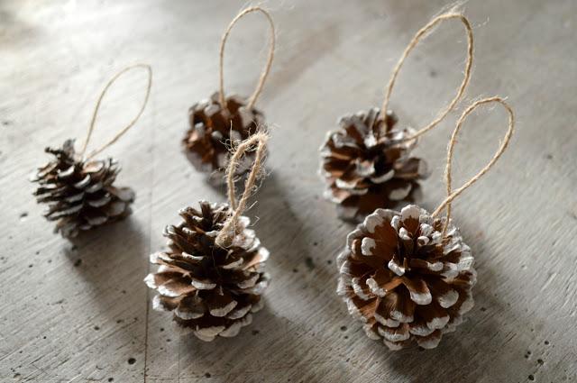 Las piñas, adorno alternativo de Navidad.