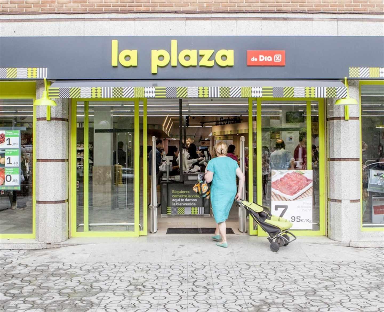 Supermercado de La Plaza, de Grupo Dia.