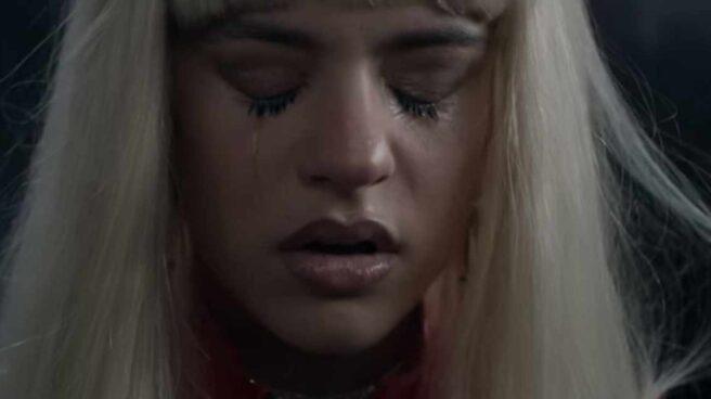 Rosalía en el videoclip de 'Bagdad'