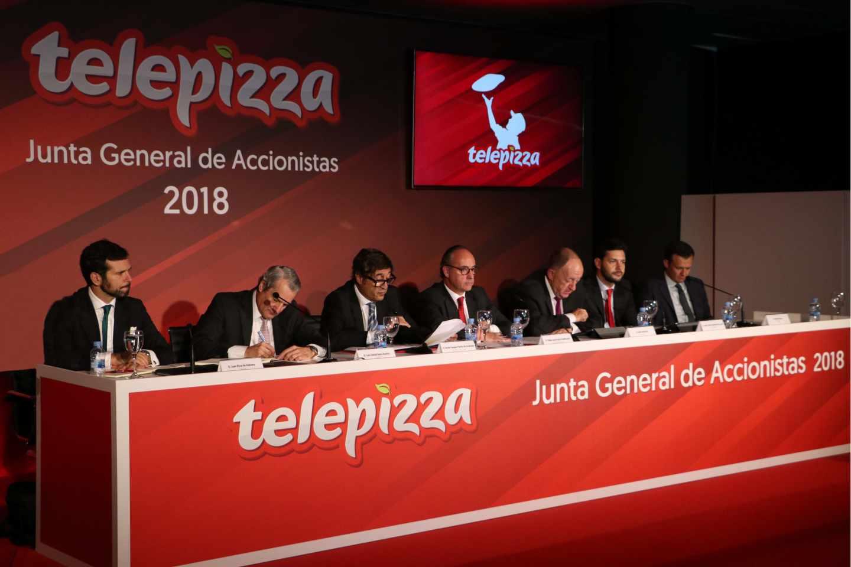 Junta de accionistas de Telepizza.