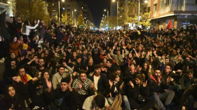 Manifestación en Granada contra Vox tras las elecciones andaluzas.