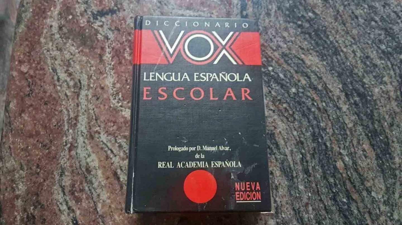 Diccionario Vox.
