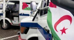 Vehículos de la Ertzaintza enviados al Sahara Occidental para uso policial.
