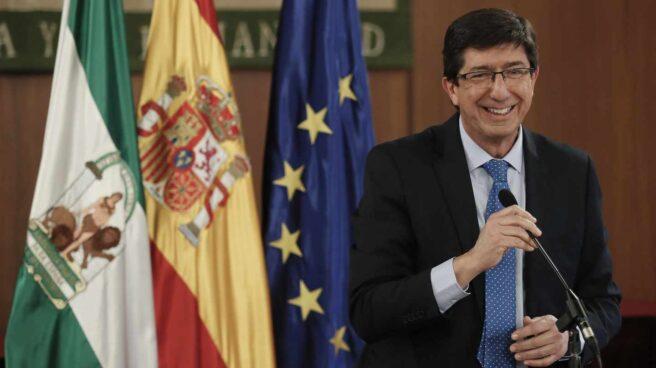Juan Marín, líder de Ciudadanos en Andalucía.