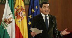 """Juanma Moreno: """"Hoy empieza el cambio. El PP se coloca en el centro de la vida política"""""""