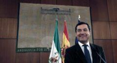Juanma Moreno, líder del PP de Andalucía.