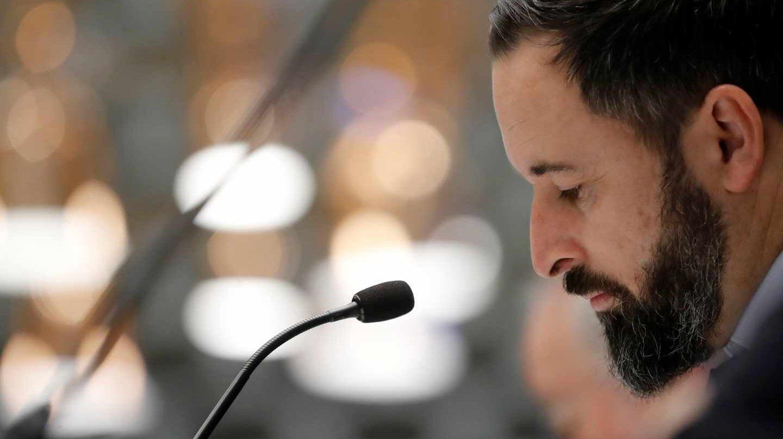 El candidato a la presidencia por Vox, Santiago Abascal.