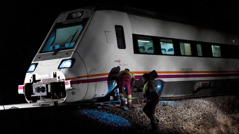 El tren que cubría la línea Madrid-Zafra.