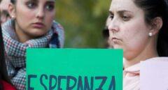 Concentración y marcha que los vecinos de Totalán (Málaga) realizan en apoyo a Julen.