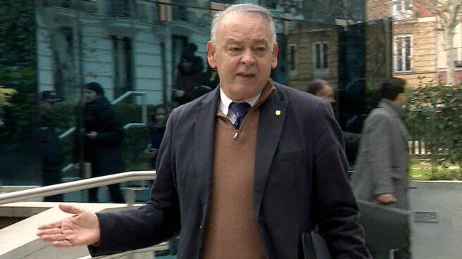 Eugenio Pino, ex Director Adjunto Operativo (DAO) de la Policía Nacional, en la Audiencia Nacional.