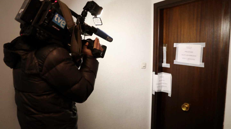 Domicilio de Zaragoza donde ha sido encontrado el cuerpo sin vida de la mujer.
