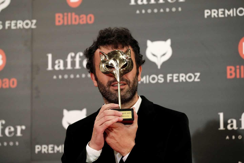 """El realizador Rodrigo Sorogoyen recibe el premio a mejor dirección por """"El reino"""""""