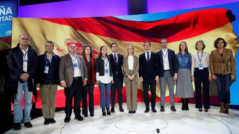El himno de España en el cierre de la Convención del PP.