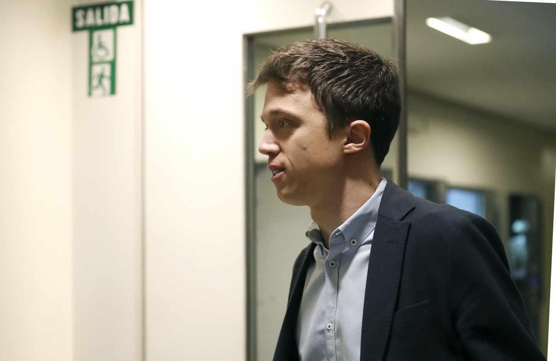 Iñigo Errejón, en el Congreso de los Diputados.