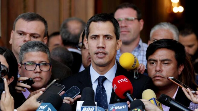 El presidente de la Asamblea Nacional, Juan Guaidó.