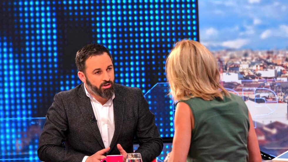 Santiago Abascal, en la entrevista con Susanna Griso.