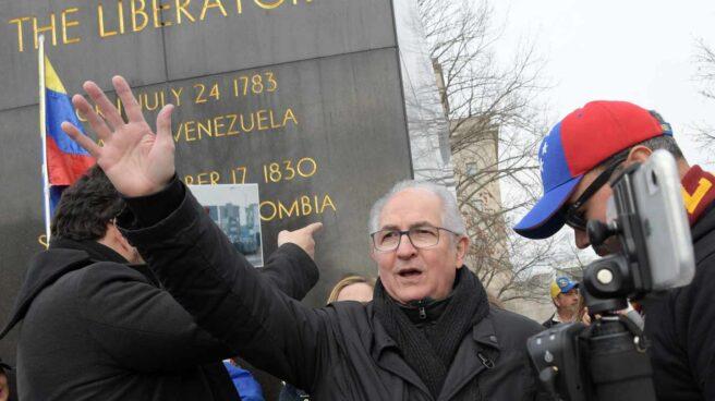 El alcalde metropolitano de Caracas, Antonio Ledezma, en Washington.
