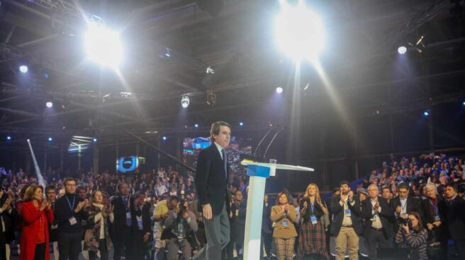 José María Aznar, en la Convención del PP.