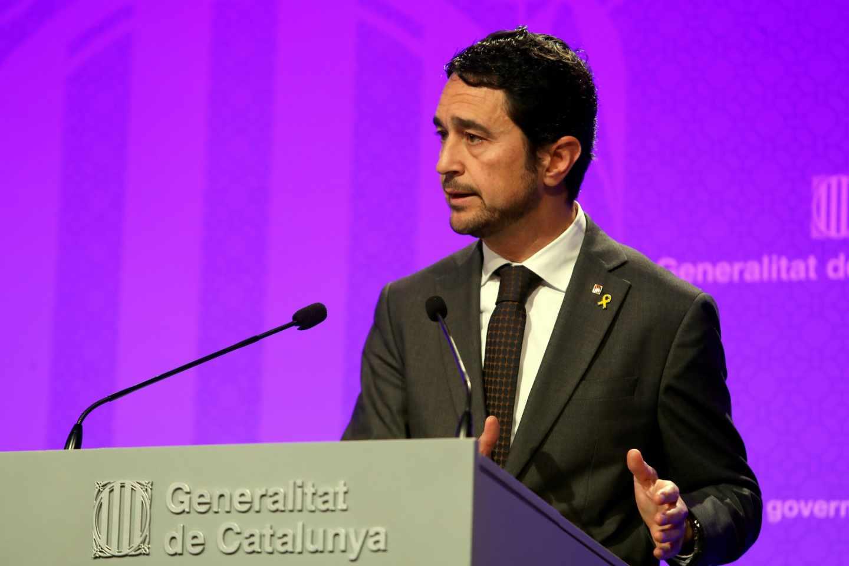 El conseller de Territorio de la Generalitat, Damià Calvet.