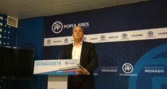 El presidente del PP extremeño, José Antonio Monago.