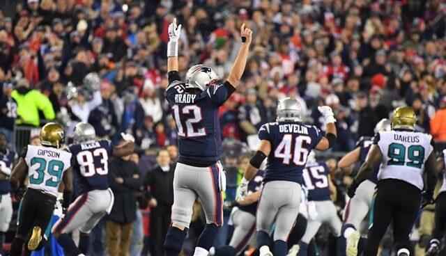 El quarterback de los New England Patriots, Tom Brady.