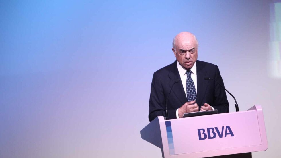Francisco González, presidente honor de BBVA.