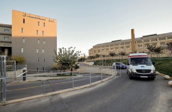 Fachada del hospital Manises en Valencia.