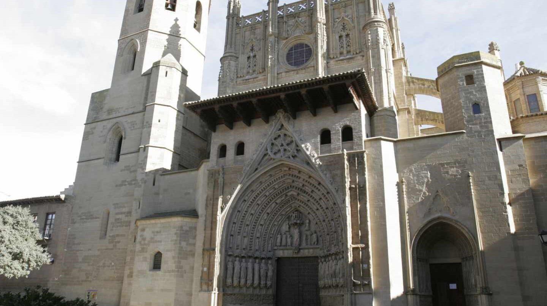 Fotografía de archivo de la Catedral de Huesca.